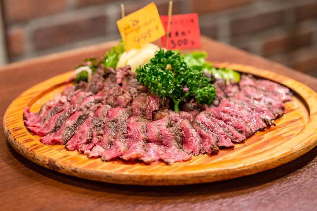 熟成肉リブロースと肩ロース